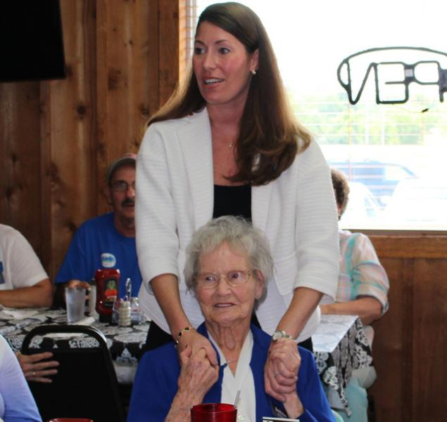 Grimes visits Livingston County